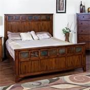 Sunny Designs 2333DC-EK Santa Fe Petite Eastern Panel Bed, King ()