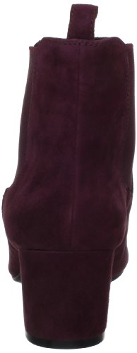 Isaac Mizrahi New York Frauen Carnaby Geschlossener Zeh Fashion Stiefel Dark Red