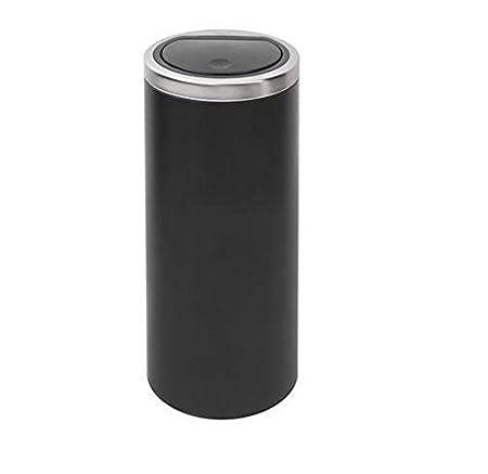 Brabantia Touch Bin 30 L Flat Top.Brabantia Flat Top Touch Bin 30l Matt Black By Brabantia Amazon Co