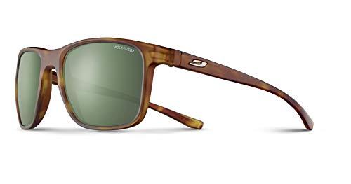 Julbo Trip Sunglasses, Matte Brown Tortoise Frame, Green Polarized Lens (Julbo Sunglasses Polarized)