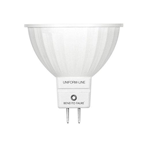 Beneito 6 Watt Led Spotlight Bulb Mr16 12 V Warm Amazon Co Uk Lighting