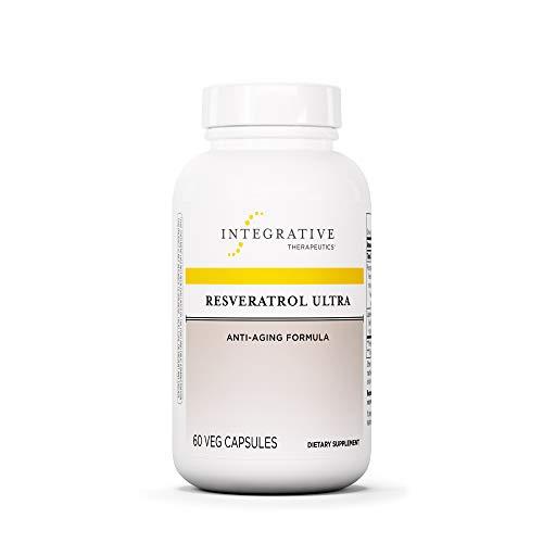Integrative Therapeutics - Resveratrol Ultra - Anti Aging Formula - Spports Cellular Health to Reduce Oxidative Stress - 60 Capsules by Integrative Therapeutics