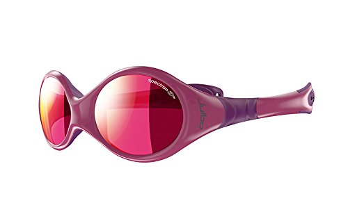 8e6f1b4b54 Image Unavailable. Image not available for. Colour  Julbo J3491119CUS Kids  Pink Purple Frame Spectron 3CF Lens Wrap Sunglasses