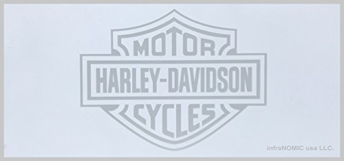 Harley-Davidson Logo etched on mirror - 2' x 4' Radiant Heat Panel (CUSTOM PRODUCT)