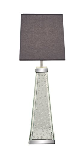 Deco 79 87294 Wood Mirr Table Lamp 30
