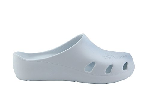 White 3 Peter Clogs Legwood Size Women's UK qwUgtHU