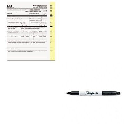 KITPMC59101SAN30001 - Value Kit - Pm Company Digital Carbonless Paper (PMC59101) and Sharpie Permanent Marker (SAN30001) by PM Company