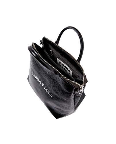 Femme Large 182BBAL1B bag Bimba y crossbody leather black Lola Eqxgt1Hw