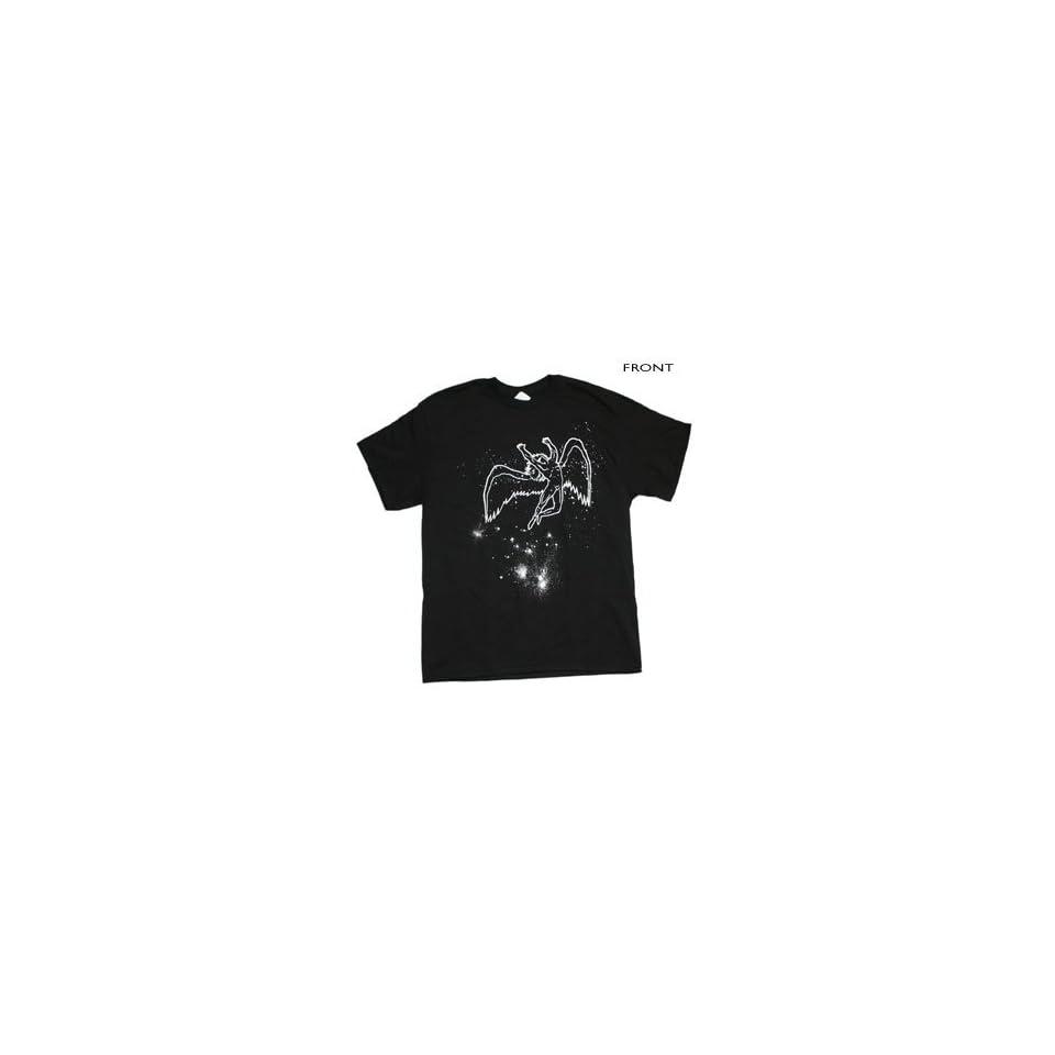 Led Zeppelin   77 Us Tour Stars T Shirt