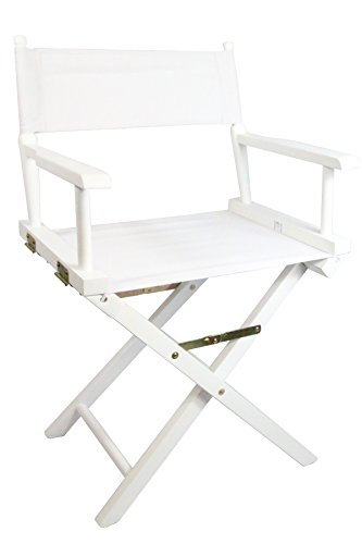 White Premium Director's Chair with Free Personalisation Personalise Online
