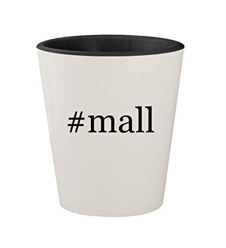 #mall - Ceramic Hashtag White Outer & Black Inner 1.5oz Shot ()