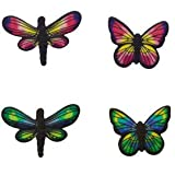 Butterfly and Dragonfly Edible Sugar Decorations for Cakes and Cupcakes/Food Decorations 12 count