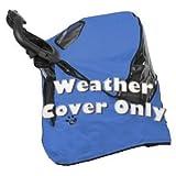 Pet Gear Weather Cover for Happy Trails Pet Stroller, Cobalt Blue, My Pet Supplies