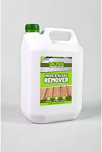 Moss Terminator: Moss & Algae Remover - Best Liquid Moss Killer For Lawns