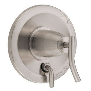 Danze D500454BNT Sonora Shower Valve Escutcheon Trim Kit with Diverter, Brushed Nickel, Valve Not Included