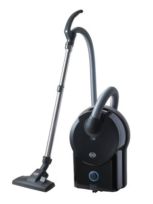SEBO D2 TOTAL BLACK BAGGED CYLINDER VACUUM CLEANER