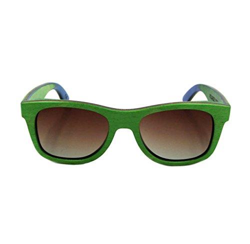 Y Gafas Gafas Skate De Hombres De De a2 Gafas Verdes Madera Lujo Vintage  Sol De Mujeres PgXqwC 167d9ab24be7