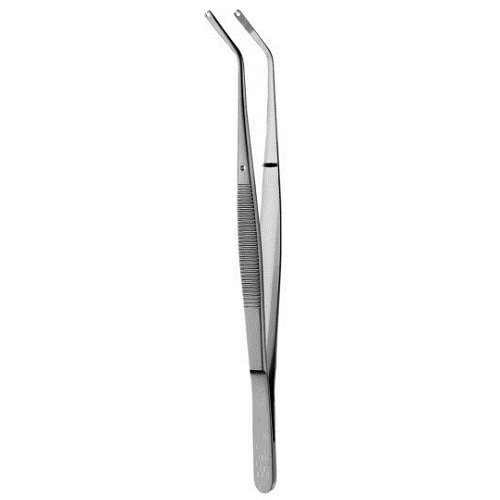 Suture Tweezer, Angled, 15.25cm/6' 15.25cm/6 Nifty Medical Supplies