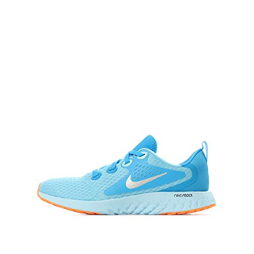 Silver Legend gs Chill React Basses Hero blue 001 Sneakers Multicolore Nike Femme blue metallic Zqvdv