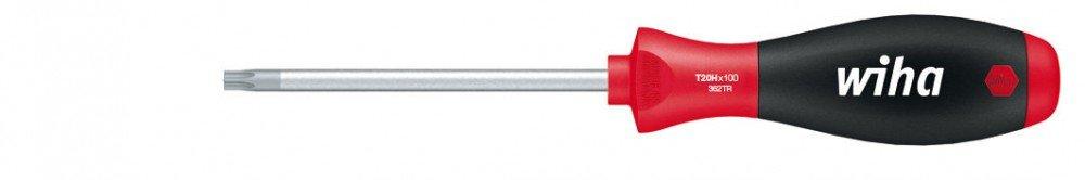 03107 T8H x 60 mm mit/Â/Bohrung Wiha Schraubendreher SoftFinish TORX/Â/Tamper/Â/Resistant/Â/ mit Rundklinge
