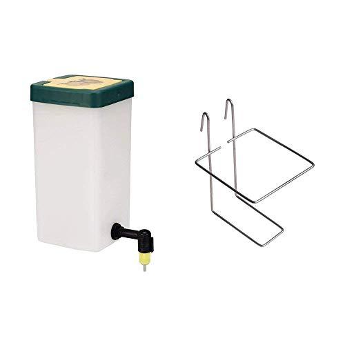 Nipple Waterer - RentACoop Nipple Chick Drinker Plus Wire Bracket