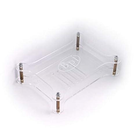 Pi M3 Gehäuse aus transparentem transparentem Gehäuse für BPI M3 R3