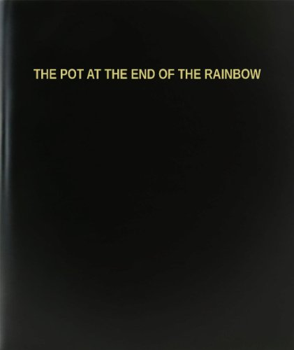 BookFactory The Pot At The End Of The Rainbow Log Book / Journal / Logbook - 120 Page, 8.5
