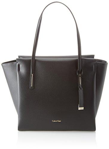 Noir Cabas Large Frame black Shopper Klein Calvin nOfAT6q