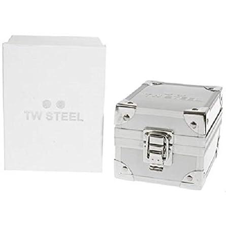 TW Steel Men s TW77 Grandeur Diver Black Rubber White Chronograph Dial Watch