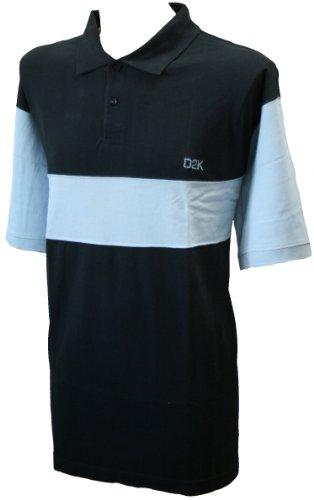 D2KHerren Poloshirt Blau Marineblau