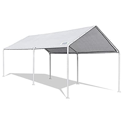 Quictent 20'X10' Heavy Duty Carport Car Canopy Party Wedding Tent with Waterproof, Anti UV Cover
