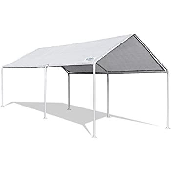 quictent 20x10 heavy duty carport car canopy party wedding tent with waterproof - Canopy