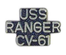 United States Navy USS Ranger CV-61 Lapel Pin (United Army States Lapel Pin)