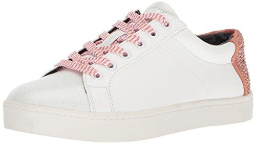 Cirus Par Sam Edelman Femmes Sneaker Collins-2 Blanc Brillant / Crème