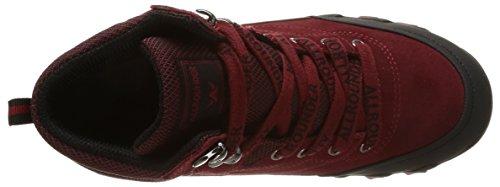 Mid by Mephisto da Red Allrounder Black P2003795 Donna Scarpe Rosso Camminata Red v1w6qdx