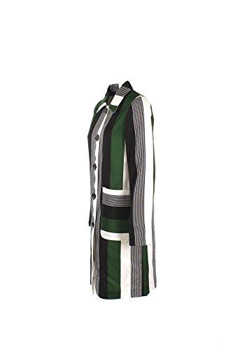 Giacca Donna Anonyme S Verde/bianco U36fc007 Autunno Inverno 2016/17
