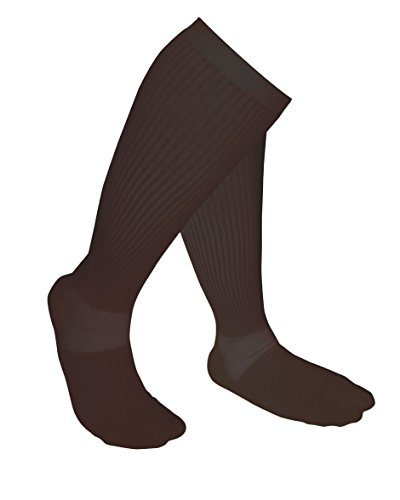 Compression Socks - Sotunda Men and Women's Compression Socks - True Graduated Compression - For sports (Basketball, Running, Baseball, Walking, Cycling, Training, etc), Travel and Nurses - Boosts Circulation - Aids Faster Recovery - 1 Pair - Black - X La by Sotunda