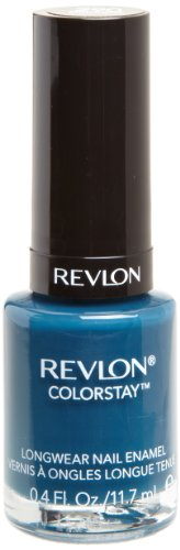 REVLON Colorstay Nail Enamel, Midnight, 0.4 Fluid (Midnight Nail Lacquer)