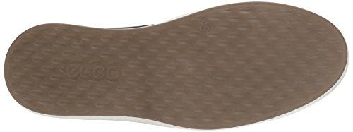 Uomo Sneaker Soft black Nero Ecco powder 8 wftq18wn0
