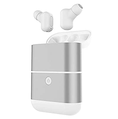 GIMTVTION X2-TWS Waterproof Dual Wireless Bluetooth 4.2 Noise Cancelling Sports Stereo Earphone Headphones Headset Earbuds with Mic and 1600mAh charge Case Power Bank