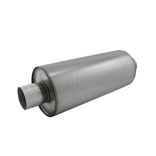 (Flowmaster 12514310 DBX Muffler - 2.50 Center IN / 2.50 Center OUT - Moderate Sound)