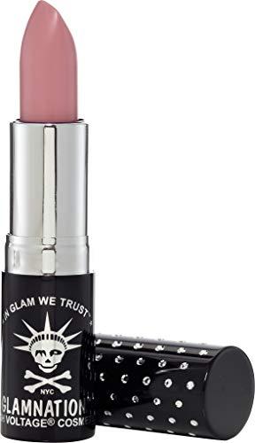 Manic Panic Free Love Lethal Lipstick - Pale, Warm Dusty Pink Lipstick - Kitten Colors Lipsticks - Rich, Velvety Matte Finish - Vegan & Cruelty Free - Long Lasting Moisturizing Vegan Pink Lip Stick -