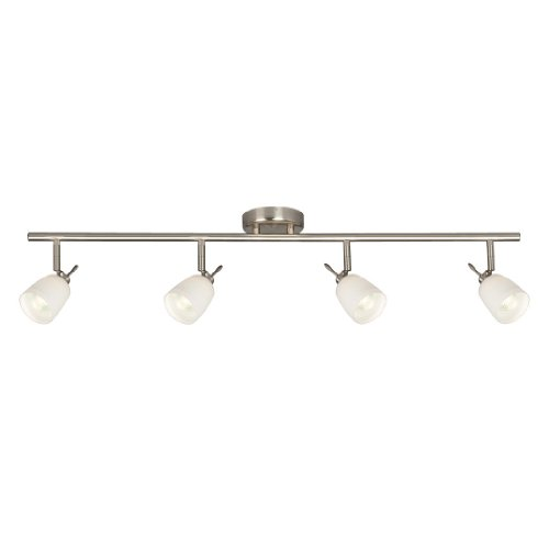 Fixed Track (Galaxy Lighting 755614BN/WH 4 Light Halogen Fixed Track Lighting)