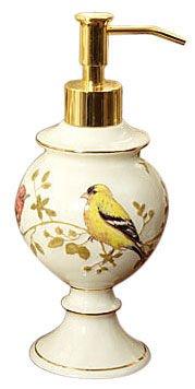 Avanti Linens Gilded Birds Lotion Pump