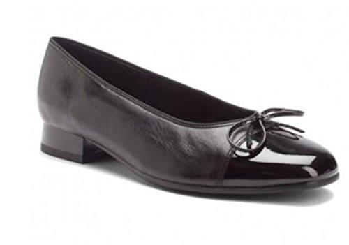 ara Women Shoes 43708_01F BARI BLACK PATENT SIZE 8