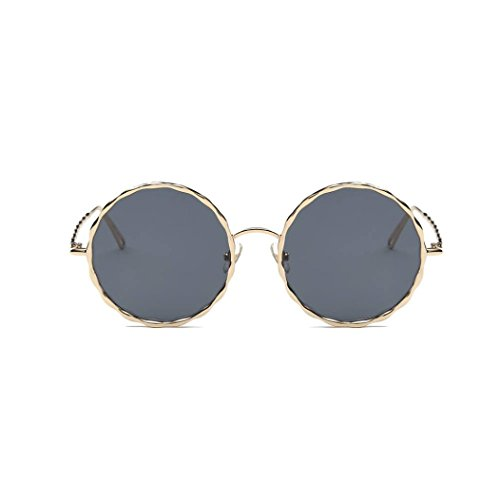 Aviador Polarizado Espejo Sol Gafas Vintage B Lentes Mujeres Portección Gafas de de unisex Retro Gafas Brillo UV Unisex Clásico sol Hombres Moda Lente Espejo BCYBq0Ux