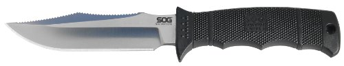 SOG Specialty Knives & Tools E37-K Seal Pup Elite Straight Knife with Kydex Sheath (Tools Specialty Seal Sog)