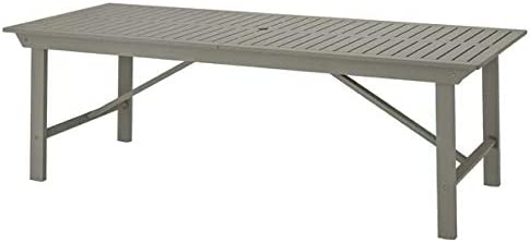 Ikea Bondholmen Table Outdoor Gray Stained 92 1/2x35 3/8 104.205.62