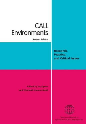 CALL environments: Research, Practice, and Critical Issues