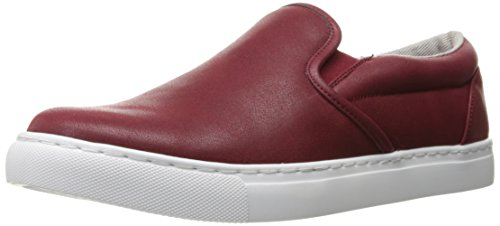GBX Men's Serge Slip-on Loafer, Red, 8 M US Red